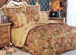 Красное постельное белье с вышивкой | SPIM.RU - Москва | 8-800-555-60-55