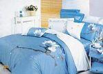 Голубое постельное белье с вышивкой | SPIM.RU - Москва | 8-800-555-60-55