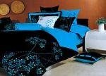 Синее постельное белье с наволочками 50х70 | SPIM.RU - Москва | 8-800-555-60-55