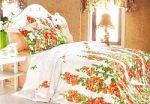 Красное постельное белье из жаккарда | SPIM.RU - Москва | 8-800-555-60-55