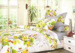 Желтое постельное белье из жаккарда | SPIM.RU - Москва | 8-800-555-60-55
