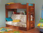 Недорогие двухъярусные кровати . Купите 2-ярусную детскую кровать из ДСП, ЛДСП или МДФ — SPIM.RU — Москва