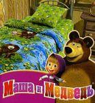 Зеленое постельное белье с цветами Непоседа | SPIM.RU - Москва | 8-800-555-60-55