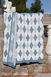 Голубые пледы с орнаментом | SPIM.RU - Москва | 8-800-555-60-55