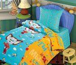 Коричневое постельное белье Непоседа из бязи   SPIM.RU - Москва   8-800-555-60-55