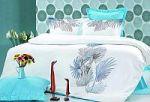 Бирюзовое постельное белье . Купите комплект постельного белья бирюзового цвета в интернет-магазине — SPIM.RU — Москва