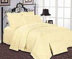 Однотонное постельное белье желтого цвета. Купите желтый комплект постельного белья без рисунков! | SPIM.RU - Москва