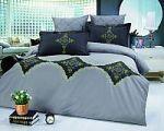 Черное постельное белье с орнаментом | SPIM.RU - Москва | 8-800-555-60-55