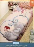Синее недорогое постельное белье | SPIM.RU - Москва | 8-800-555-60-55