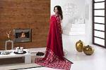 Красные пледы с орнаментом   SPIM.RU - Москва   8-800-555-60-55